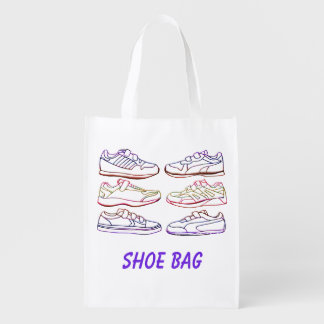 Shoe Bag Re-usable Grocery Tote