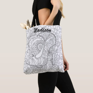 Shoe CL11 Fashion Optional Add Your Name Glamour Tote Bag