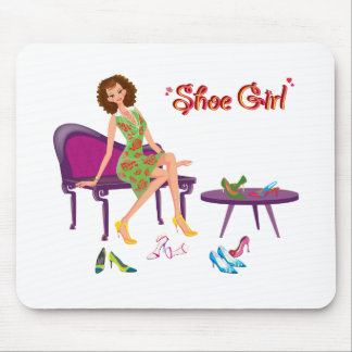 Shoe Girl Fashion Mouse Pad