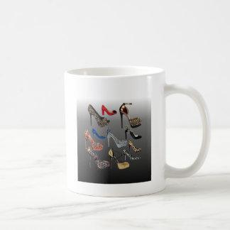 Shoe High Heels Collage Customize Coffee Mug