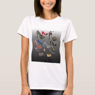 Shoe High Heels Collage Customize T-Shirt