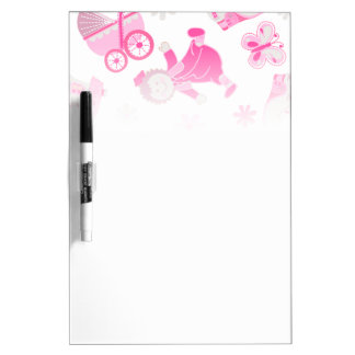 Shoe house & doll dry erase board
