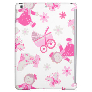 Shoe house & doll iPad air covers