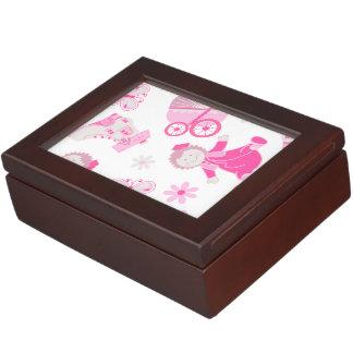 Shoe house & doll keepsake box