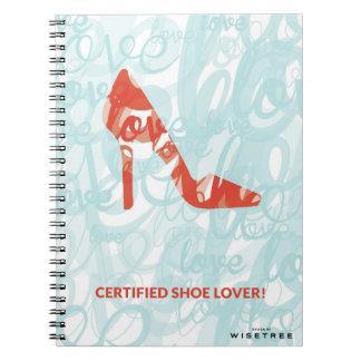 'Shoe Lover' Notebook