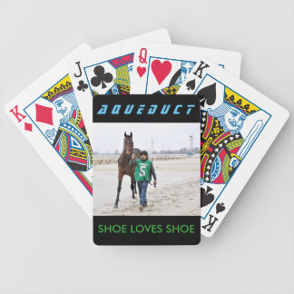 Shoe Loves Shoe  by Friesen Fire Bicycle Playing Cards
