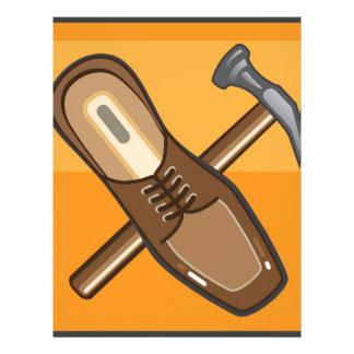 Shoe Repair Icon Personalized Letterhead