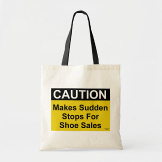 Shoe Sales Caution Bag