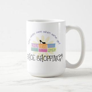 Shoe Shopping Coffee Mug