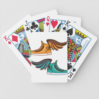 Shoe Wing. Fast. Bicycle Playing Cards