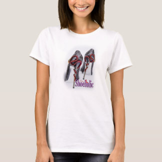 Shoeholics Snake Shoe Heel T-Shirt