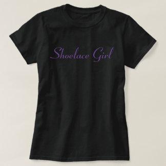 Shoelace Girl - Purple - Pegasus- T-Shirt