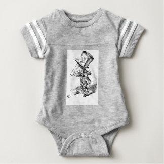 Shoeless Mad Hatter Baby Bodysuit
