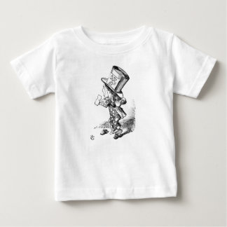 Shoeless Mad Hatter Baby T-Shirt