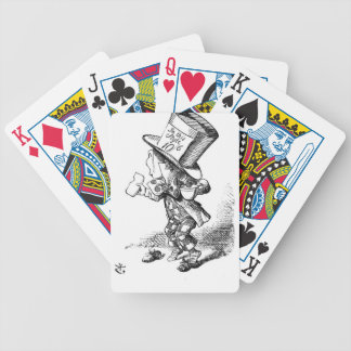 Shoeless Mad Hatter Bicycle Playing Cards