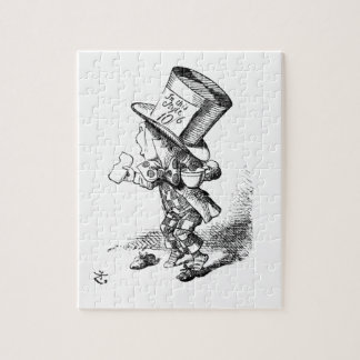Shoeless Mad Hatter Jigsaw Puzzle