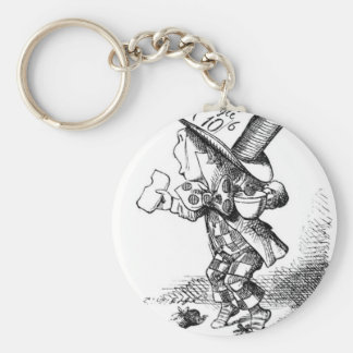 Shoeless Mad Hatter Keychain