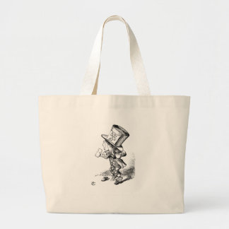 Shoeless Mad Hatter Large Tote Bag