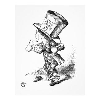 Shoeless Mad Hatter Letterhead