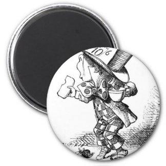 Shoeless Mad Hatter Magnet