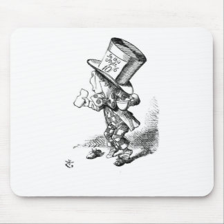 Shoeless Mad Hatter Mouse Pad