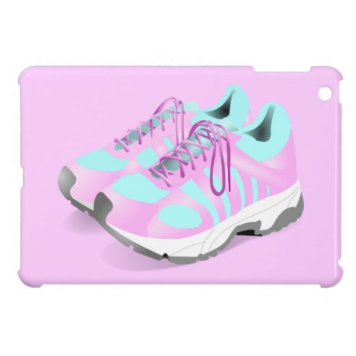 shoes-157716 CUTE PINK ATHLETIC RUNNERS STYLISH  s iPad Mini Cover