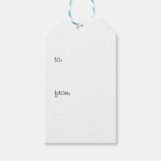 Shoes are my life gift tags