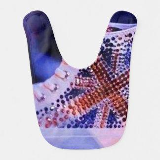 Shoes christmas_Babero Merry Bib