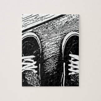 Shoes design jigsaw puzzle