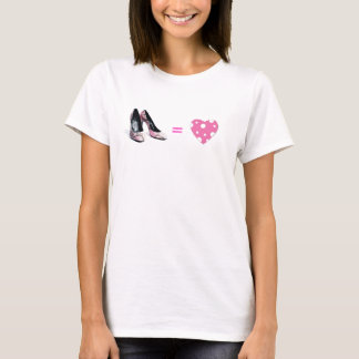 Shoes Equal Love T-Shirt