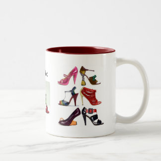 shoes_highend, mai_lamore_rose_shoes, shoes_hig... Two-Tone coffee mug