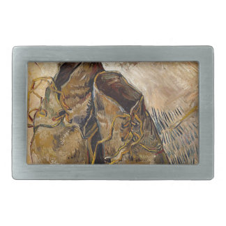 Shoes in Impressionist style Belt Buckles