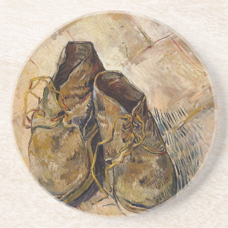 Shoes in Impressionist style Coaster