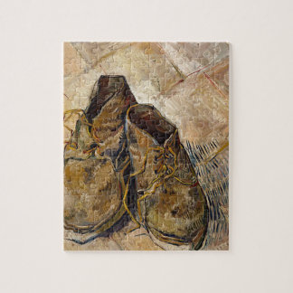Shoes in Impressionist style Jigsaw Puzzle