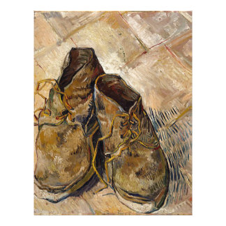 Shoes in Impressionist style Letterhead