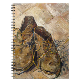 Shoes in Impressionist style Notebook