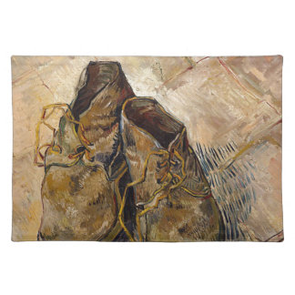 Shoes in Impressionist style Placemat
