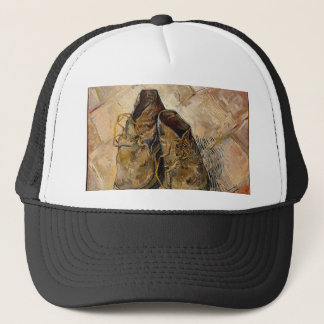 Shoes in Impressionist style Trucker Hat