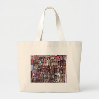 Shoes in India Large Tote Bag