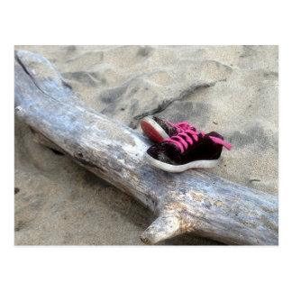 Shoes on the Beach Postcard