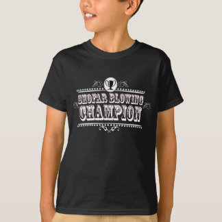 Shofar Blowing Champion T-Shirt