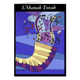 Shofar Rosh Hashana, L'Shanah Tovah Card