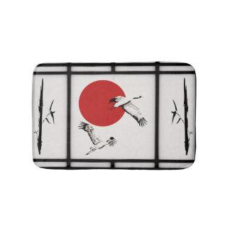 Shoji - Bamboo & Crane Bath Mat