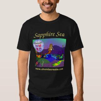 Shonda's Realm Sapphire Sea T-Shirt Dark