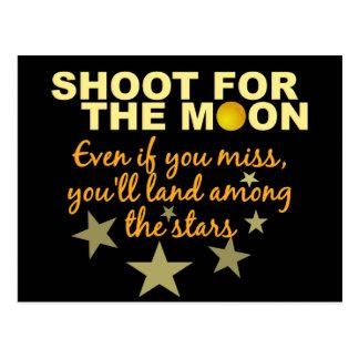 Shoot 4 The Moon postcard