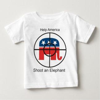 shoot an elephant baby T-Shirt