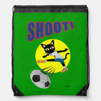 SHOOT! DRAWSTRING BAG