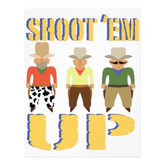 Shoot Em Up Personalized Letterhead