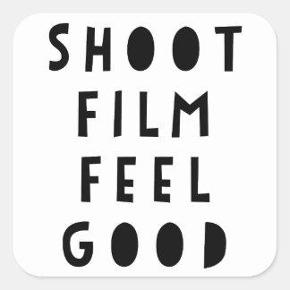 Shoot Film Feel Good Sticker