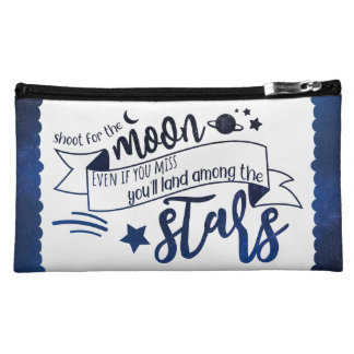 Shoot for the Moon Cosmetic Bag